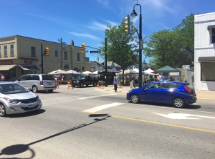 In the heart of Port Elgin downtown